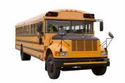 Amerikaanse schoolbus