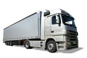 Vrachtwagen met schuifzeil