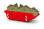 Tuin- en groenafvalcontainer