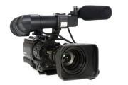 Professionele videocamera