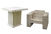 Steigerhout meubilair