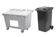 Rolcontainer organisch afval