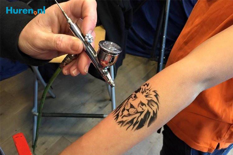 Airbrush tattoo huren | Vanaf € 545,-