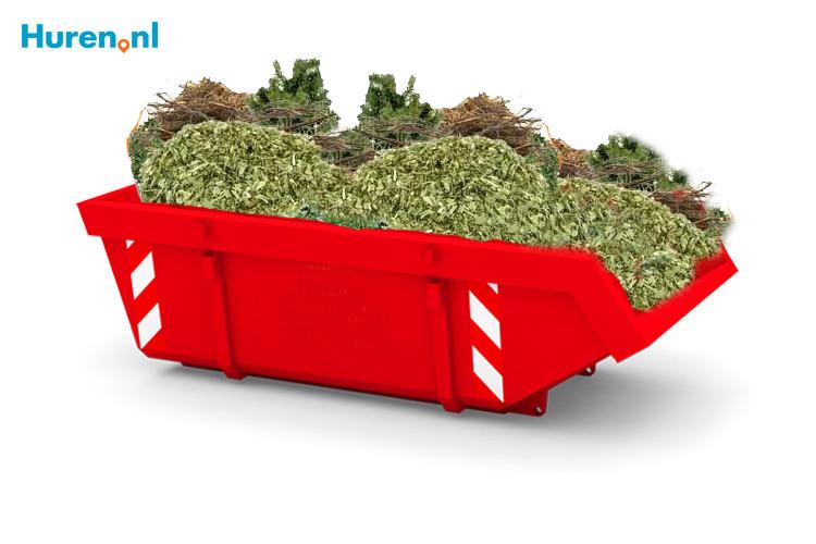 Container tuinafval prijs