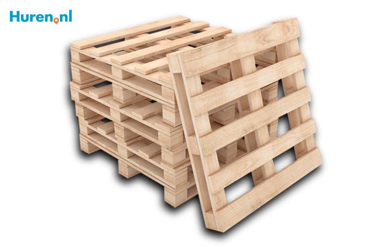Houten pallet huren - Foto houten pallet ...