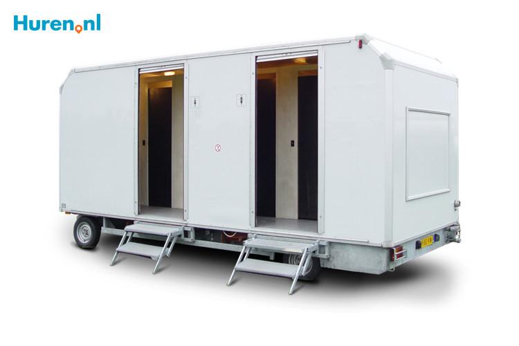 Mobiel Kantoor Huren : Toiletwagen huren vanaf u20ac 75